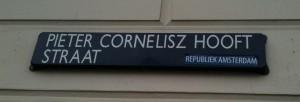 Republiek Amsterdam sticker PC Hooftstraat