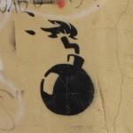 bom graffiti Baltics 2012 bomb
