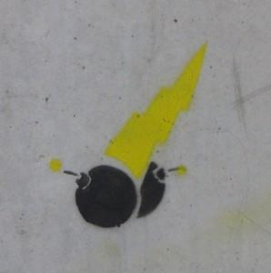 bomb graffiti Baltics 2012 bom