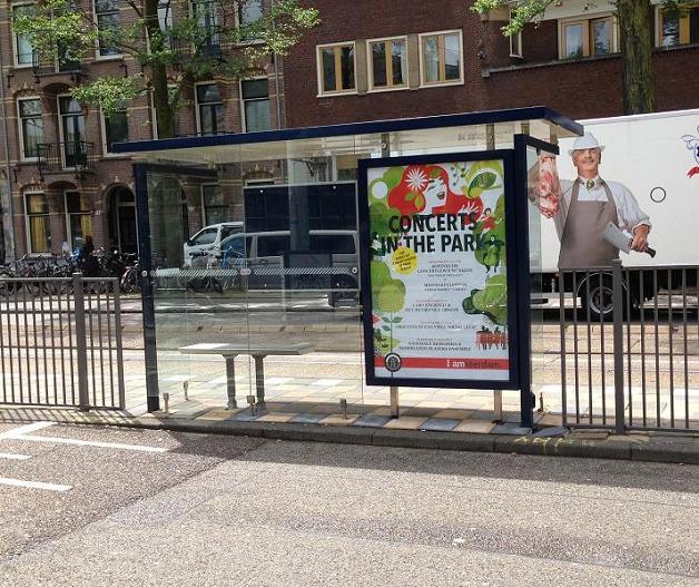 hekken Roelof Hartplein halte tram a