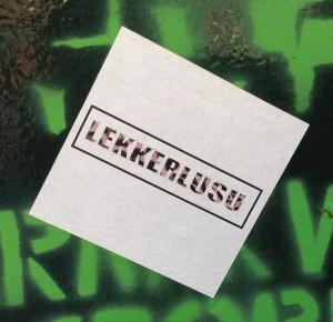 sticker Lekkerlusu Amsterdam 2013 lusu stronken