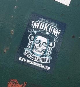 sticker Mokum suicide squad Amsterdam