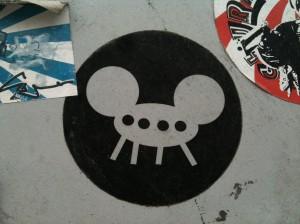 sticker Popcorn Amsterdam