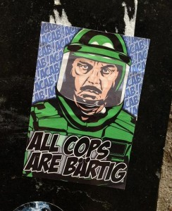 sticker all cops are bärtig Amsterdam 2013