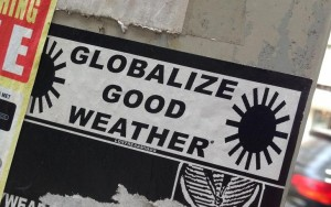 sticker globalize good weather los tres amigos Amsterdam