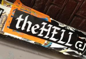 sticker the Hell Amsterdam