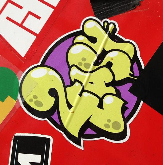 sticker 2easy Amsterdam 2013