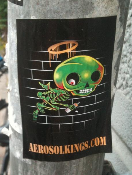sticker Aerosolkings Amsterdam 2012