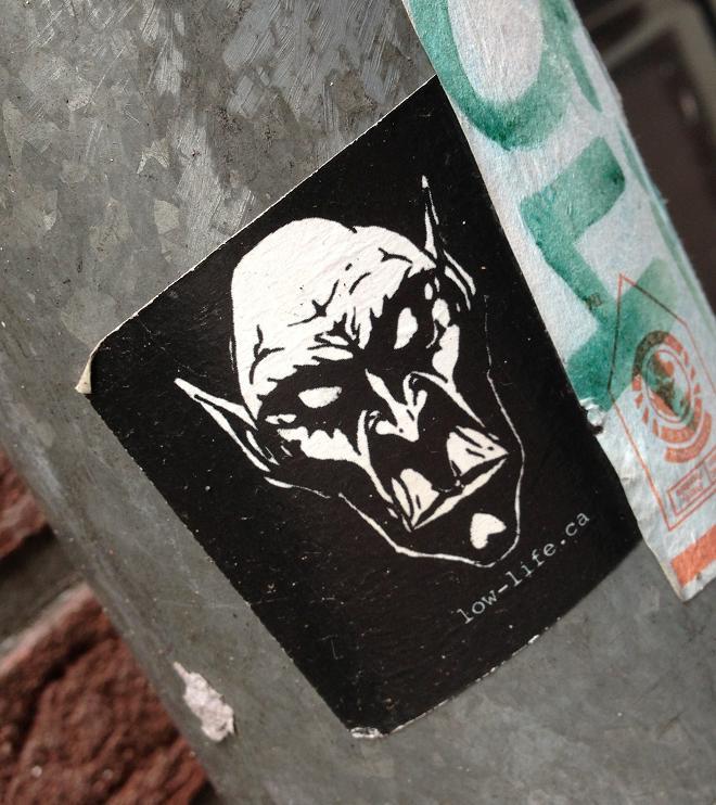 sticker Low-Life.ca Amsterdam 2013