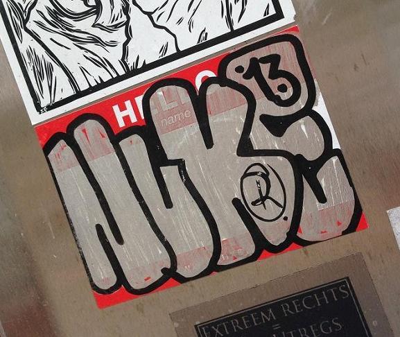 sticker Nuke 13 Utrecht 2013