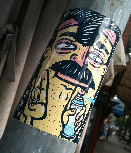 sticker Spray Amsterdam