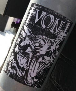 sticker Von wolf Amsterdam 2013 mad dog