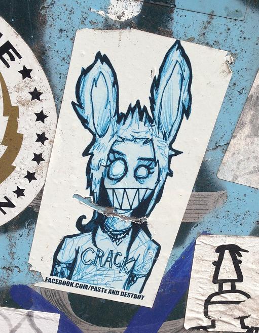sticker crack paste destroy Amsterdam 2013