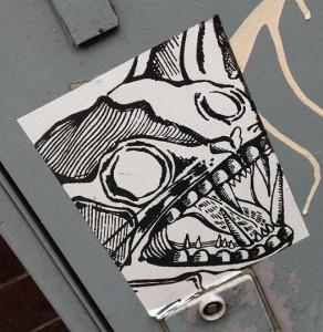 sticker wild cat Amsterdam 2013 wilde kat