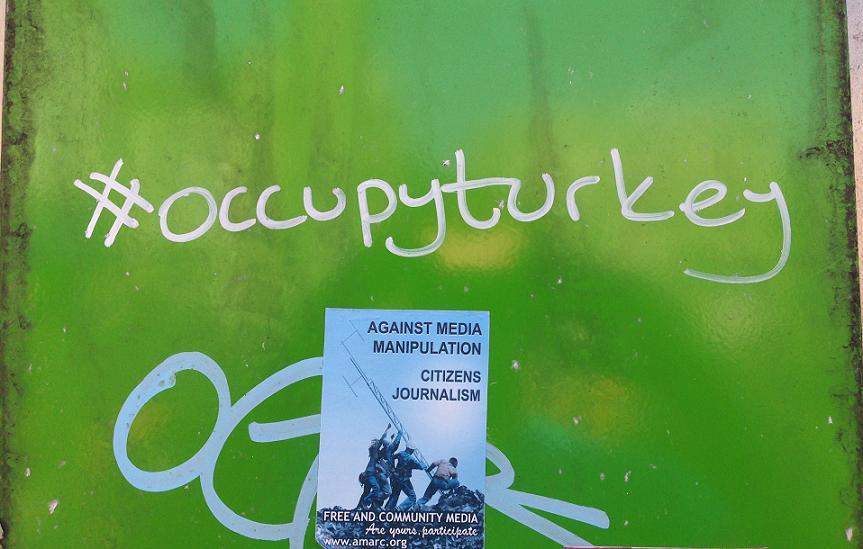 stift #occupyturkey Amsterdam Center 2013