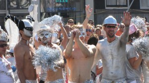Gay-parade Amsterdam 2013 bizarre gays