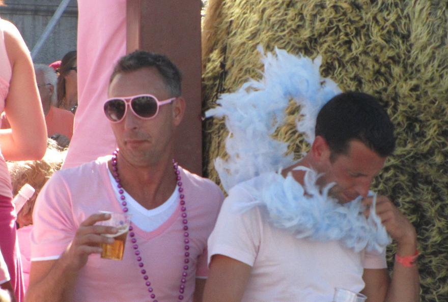Gay-parade Amsterdam 2013 gays
