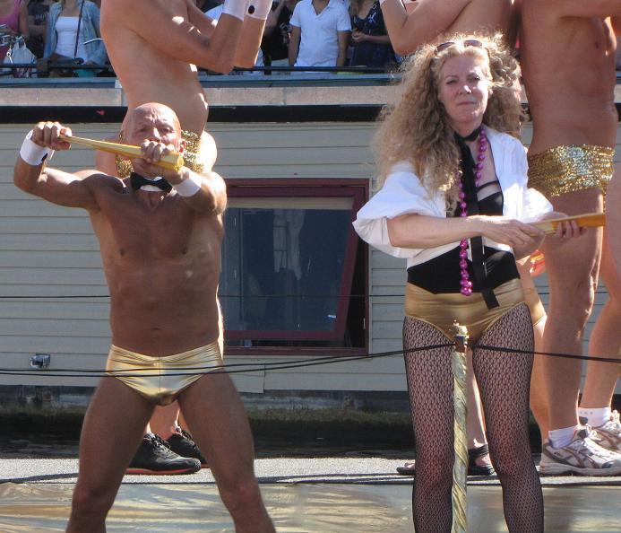 Gay-parade Amsterdam 2013 old gays