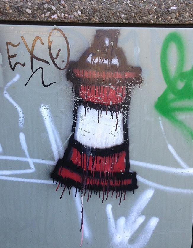 graffiti Vlissingen juli 2013 vuurtoren
