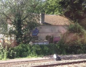 graffiti langs spoor juli 2013