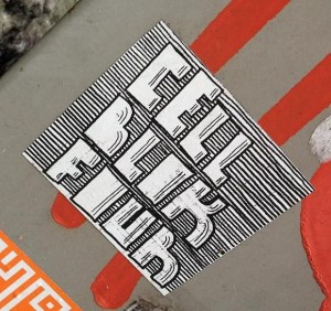 sticker Cell block Four Amsterdam 2013 Red Light District prison