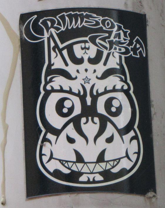 sticker Crimson Cisa 2014 June Arnhem mad