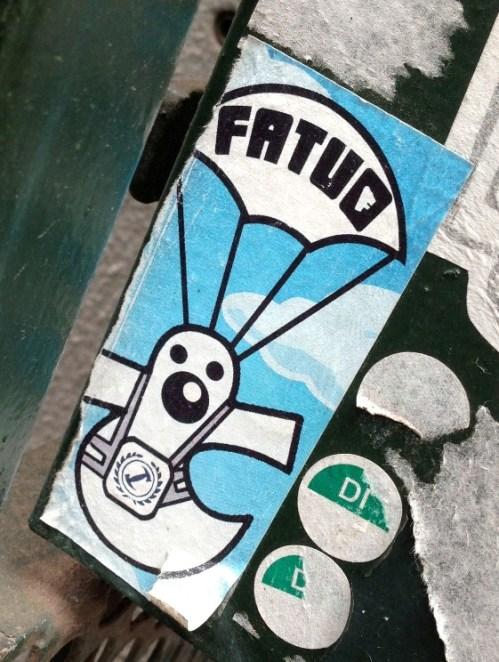 sticker Fatuo Amsterdam 2013 parachute