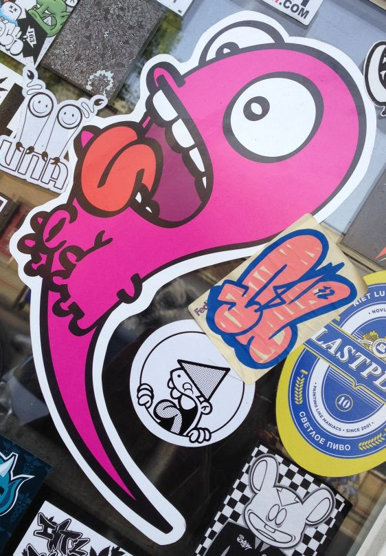 sticker Nol large Amsterdam east 2014 April