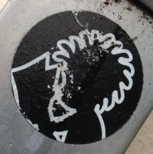 sticker Yatusabes Amsterdam 2013 August De Pijp