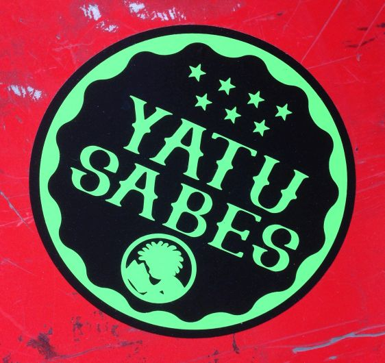 sticker Yatusabes Amsterdam 2013 September man reads toilet street-art
