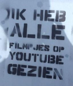 graffiti Huisstijl Noord Amsterdam 2013 September alle filmpjes youtube gezien