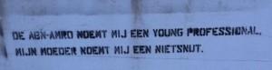 graffiti Huisstijl Noord Amsterdam Abnamro professional nietsnut 2013 September