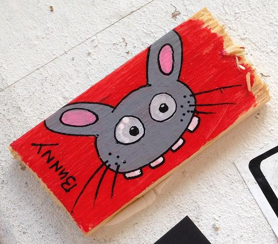 plank Bunny Brigade Amsterdam center 2013 September