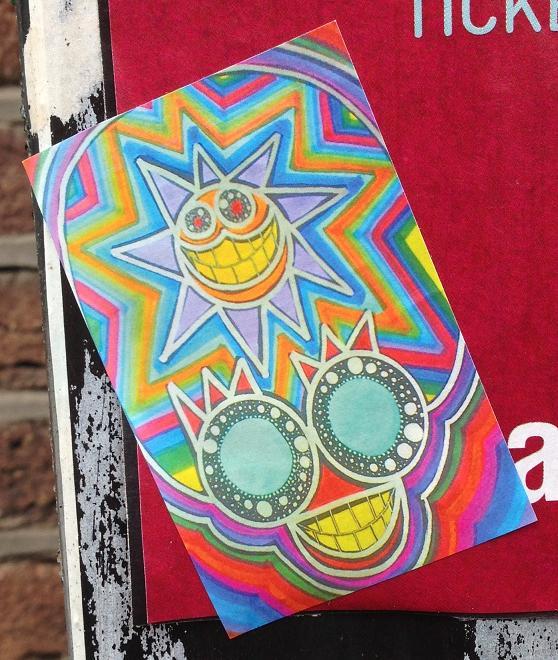 sticker Crimson cisa Amsterdam center 2013 September