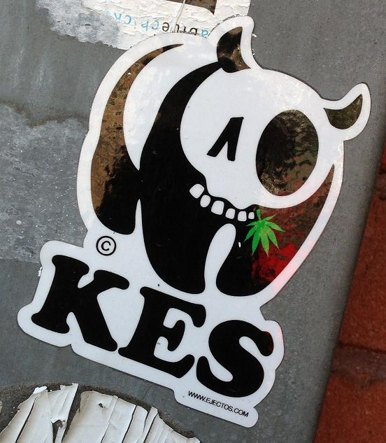 sticker Kes Ejectos Amsterdam 2013