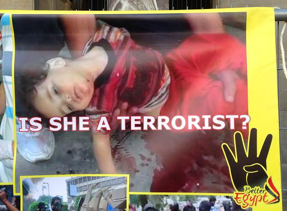 Egypte demonstratie is she terrorist Amsterdam center 2013 September dead girl
