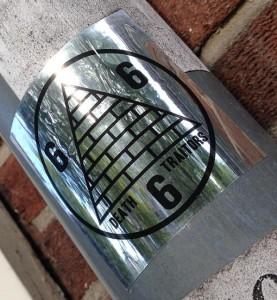 sticker 666 traitors pyramid Amsterdam center 2013 September