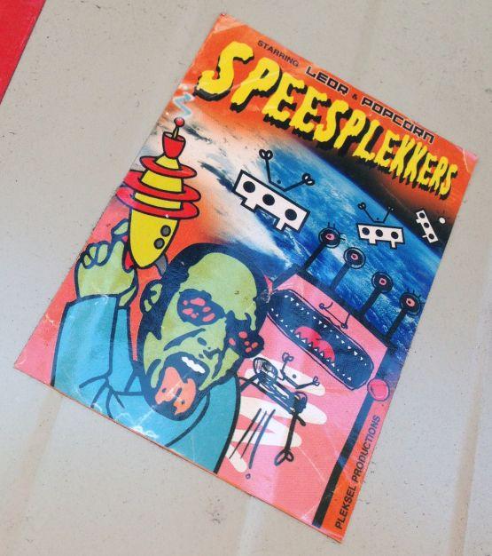 sticker Speesplekkers Amsterdam center 2013 September Popcorn Leor collab
