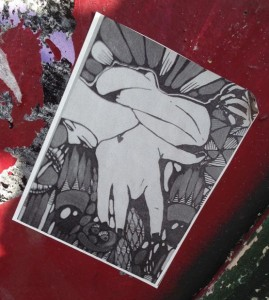 sticker fingering girl Amsterdam center 2013 September