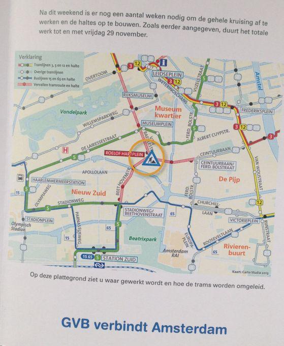 gvb folder werkzaamheden Roelof Hartplein