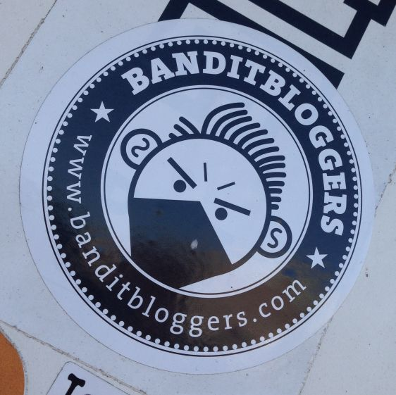 Sticker Banditbloggers Amsterdam ndsm 2013 December media