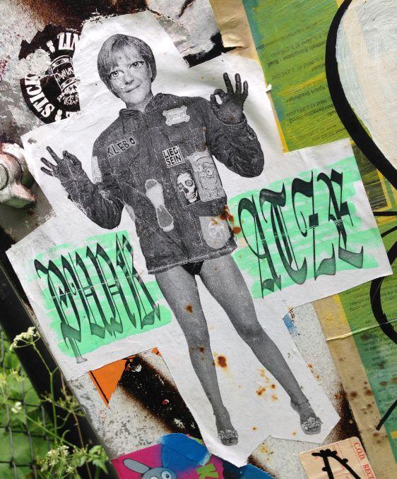 collab sticker Späm Klebo Katze Amsterdam Amsterdamse Brug 2014 Juni Lieb sein