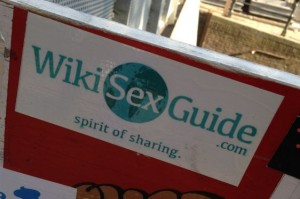 sticker Wiki sex guide Amsterdam center October 2014 spirit sharing