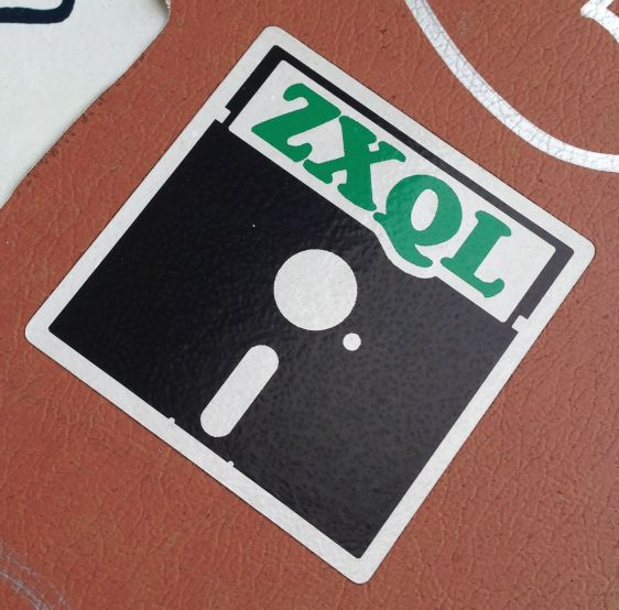 ZXQL sticker Amsterdam North 2014 April