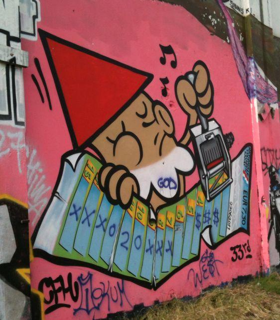 graffiti KBTR 2012 maart Amsterdam-West