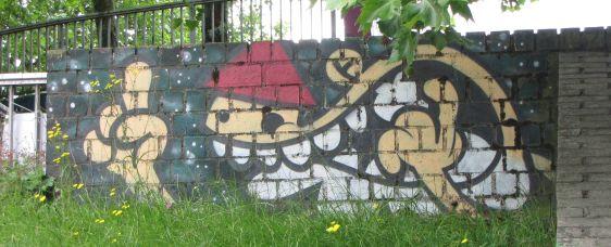graffiti KBTR 2014 June Arnhem Kabouter