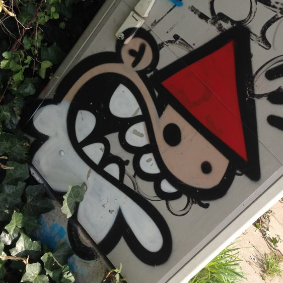 graffiti KBTR Amsterdam Polderweg 2014 April Kabouter