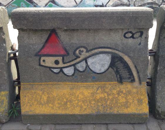 graffiti KBTR Amsterdam Polderweg 2014 April