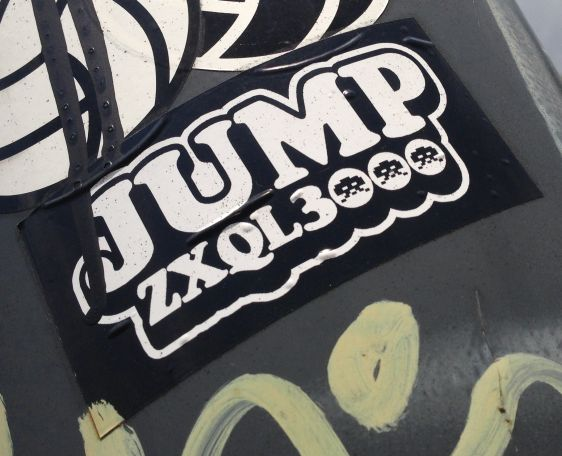 sticker Jump ZXQL 3000 Arnhem 2014 June