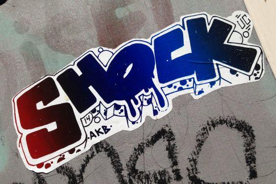 sticker Shock uc 14 akb Amsterdam center 2014 May